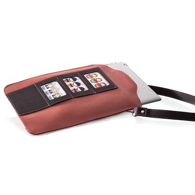 iPad Straight oudroze/aubergine